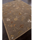 RugStudio presents Addison And Banks Hand Tufted Abr1351 Gray Brown Hand-Tufted, Good Quality Area Rug