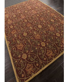RugStudio presents Addison And Banks Hand Tufted Abr1352 Deep Ruby Hand-Tufted, Good Quality Area Rug