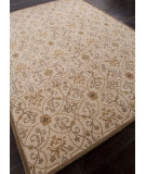 RugStudio presents Addison And Banks Hand Tufted Abr1354 Soft Gold Hand-Tufted, Good Quality Area Rug
