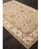 RugStudio presents Addison And Banks Hand Tufted Abr1365 Leaf Green Hand-Tufted, Good Quality Area Rug