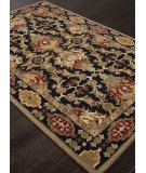 RugStudio presents Addison And Banks Hand Tufted Abr1367 Ebony Hand-Tufted, Good Quality Area Rug