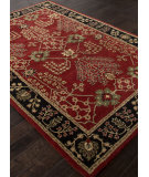 RugStudio presents Addison And Banks Hand Tufted Abr1368 Red Hand-Tufted, Good Quality Area Rug
