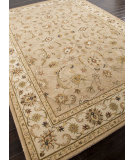 RugStudio presents Addison And Banks Hand Tufted Abr0567 Dark Sand / Cloud White Hand-Tufted, Better Quality Area Rug