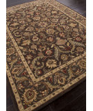 RugStudio presents Addison And Banks Hand Tufted Abr0568 Dark Brown / Mushroom Hand-Tufted, Better Quality Area Rug