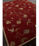 RugStudio presents Addison And Banks Hand Tufted Abr0570 Red Hand-Tufted, Better Quality Area Rug