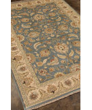 RugStudio presents Rugstudio Sample Sale 82264R Ashley Blue/Beige Hand-Tufted, Better Quality Area Rug