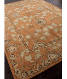 RugStudio presents Rugstudio Sample Sale 82265R Pumpkin Hand-Tufted, Better Quality Area Rug