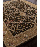 RugStudio presents Addison And Banks Hand Tufted Abr0588 Deep Charcoal/Spice Brown Hand-Tufted, Better Quality Area Rug