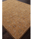 RugStudio presents Addison And Banks Hand Tufted Abr1391 Dark Amber Gold Hand-Tufted, Good Quality Area Rug