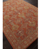 RugStudio presents Addison And Banks Hand Tufted Abr1393 Orange Rust Hand-Tufted, Good Quality Area Rug