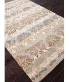 RugStudio presents Rugstudio Sample Sale 82290R Lead Gray/Soft Gold Hand-Tufted, Better Quality Area Rug