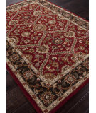 RugStudio presents Addison And Banks Hand Tufted Abr0605 Red/Deep Charcoal Hand-Tufted, Better Quality Area Rug