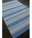 RugStudio presents Addison And Banks Flat Weave Abr0606 Bermuda Blue Flat-Woven Area Rug