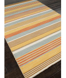 RugStudio presents Addison And Banks Flat Weave Abr0609 Saffron Flat-Woven Area Rug
