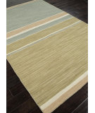 RugStudio presents Addison And Banks Flat Weave Abr0611 Apple Green / Sea Blue Flat-Woven Area Rug