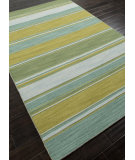 RugStudio presents Addison And Banks Flat Weave Abr0613 Lime Green Flat-Woven Area Rug
