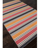 RugStudio presents Addison And Banks Flat Weave Abr0624 Amber Glow / Medium Rose Flat-Woven Area Rug