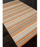 RugStudio presents Addison And Banks Flat Weave Abr0627 Vermillion Orange Flat-Woven Area Rug