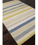 RugStudio presents Rugstudio Sample Sale 81931R Ashwood / Lime Green Flat-Woven Area Rug