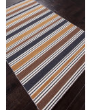 RugStudio presents Addison And Banks Flat Weave Abr0632 Vanilla Ice / Wood Brown Flat-Woven Area Rug
