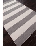 RugStudio presents Rugstudio Sample Sale 81938R Stone Gray / White Ice Flat-Woven Area Rug