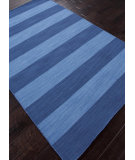 RugStudio presents Rugstudio Sample Sale 81939R Evening Blue / Bermuda Blue Flat-Woven Area Rug