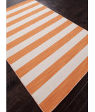 RugStudio presents Rugstudio Sample Sale 81944R Vermillion Orange Flat-Woven Area Rug