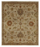 RugStudio presents Addison And Banks Triumph Px-1833 Light Gold / Medium Brown Hand-Knotted, Good Quality Area Rug