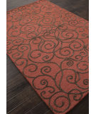 RugStudio presents Addison And Banks Hand Tufted Abr1404 Navajo Red Hand-Tufted, Good Quality Area Rug