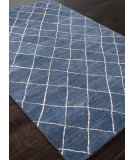 RugStudio presents Addison And Banks Hand Tufted Abr1406 Dark Denim Hand-Tufted, Best Quality Area Rug