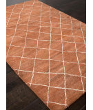 RugStudio presents Addison And Banks Hand Tufted Abr1407 Orange Rust Hand-Tufted, Best Quality Area Rug