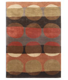 RugStudio presents Addison And Banks Triumph Tac-366 Bronze Green / Mushroom Hand-Tufted, Good Quality Area Rug