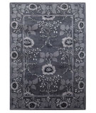RugStudio presents Addison And Banks Poeme Lavardin Stone Gray Hand-Tufted, Good Quality Area Rug