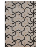 RugStudio presents Addison And Banks Triumph Taq-209 Antique White Hand-Tufted, Good Quality Area Rug