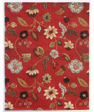 RugStudio presents Addison And Banks Triumph Tra-306 Red Hand-Tufted, Good Quality Area Rug