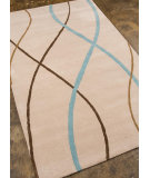 RugStudio presents Addison And Banks Hand Tufted Abr0685 Antique White Hand-Tufted, Good Quality Area Rug