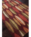 RugStudio presents Addison And Banks Hand Tufted Abr0695 Deep Ruby Hand-Tufted, Good Quality Area Rug