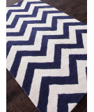 RugStudio presents Addison And Banks Hand Tufted Abr0698 Deep Navy Hand-Tufted, Good Quality Area Rug