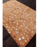 RugStudio presents Addison And Banks Hand Tufted Abr0702 Pumpkin Hand-Tufted, Good Quality Area Rug