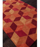 RugStudio presents Addison And Banks Hand Tufted Abr0703 Pumpkin Hand-Tufted, Good Quality Area Rug