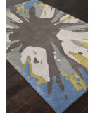 RugStudio presents Rugstudio Sample Sale 103939R Ensign Blue Hand-Tufted, Good Quality Area Rug