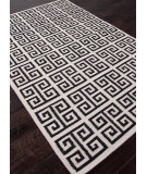 RugStudio presents Rugstudio Sample Sale 81962R Antique White / Ebony Flat-Woven Area Rug