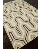 RugStudio presents Addison And Banks Flat Weave Abr0486 Light Gold Flat-Woven Area Rug
