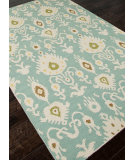 RugStudio presents Addison And Banks Flat Weave Abr0492 Cool Aqua Flat-Woven Area Rug