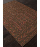 RugStudio presents Addison And Banks Flat Weave Abr1472 Dark Chocolate Flat-Woven Area Rug