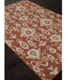RugStudio presents Addison And Banks Flat Weave Abr1476 Orange Rust Flat-Woven Area Rug