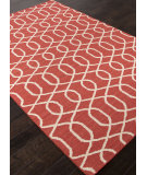 RugStudio presents Addison And Banks Flat Weave Abr1479 Chili Pepper Flat-Woven Area Rug