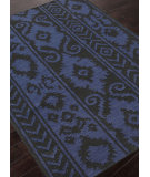 RugStudio presents Addison And Banks Flat Weave Abr1482 Ebony Flat-Woven Area Rug