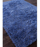 RugStudio presents Addison And Banks Shag Abr0720 Purple Velvet / Ensign Blue Area Rug