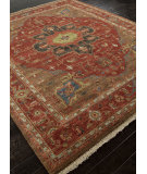 RugStudio presents Addison And Banks Hand Knotted Abr1483 Cayenne Hand-Knotted, Good Quality Area Rug
